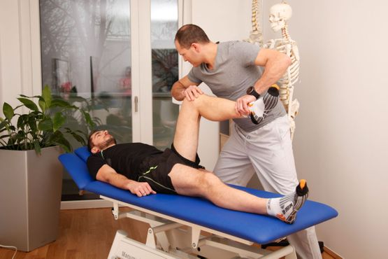Physiotherapie Untersuchung
