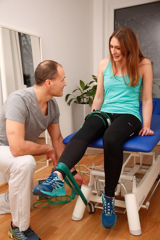 Training mit Blood Flow-Methode